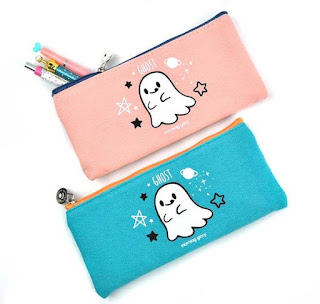 ghost pencil cases at CoolPencilCase.com