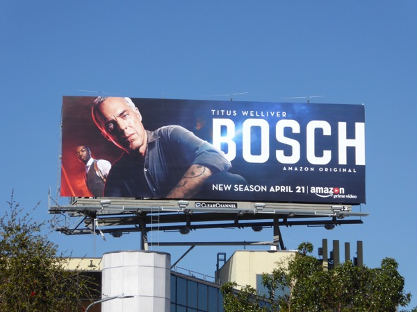 Titus Welliver Bosch season 3 billboard