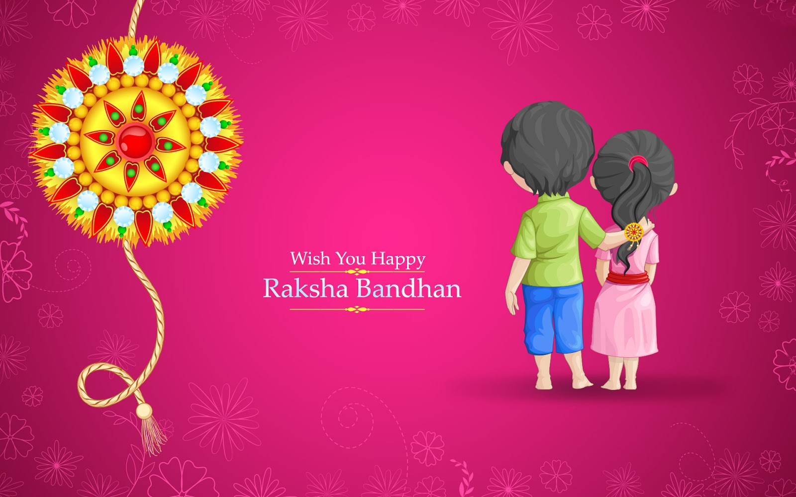 happy raksha bandha wishes sms