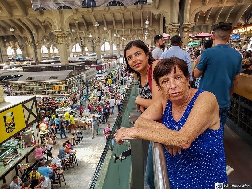 Turistando no Mercado Municipal de de São Paulo