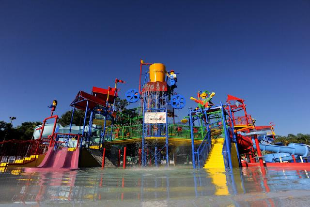 Joker Soaker no parque aquático Legoland em Orlando: