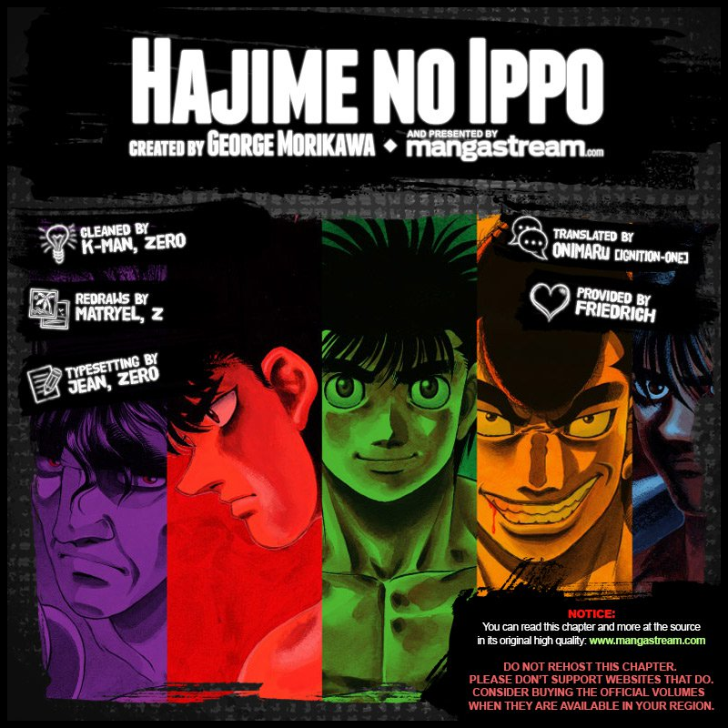 Hajime no Ippo Chapter 1210 - YoLoManga.com