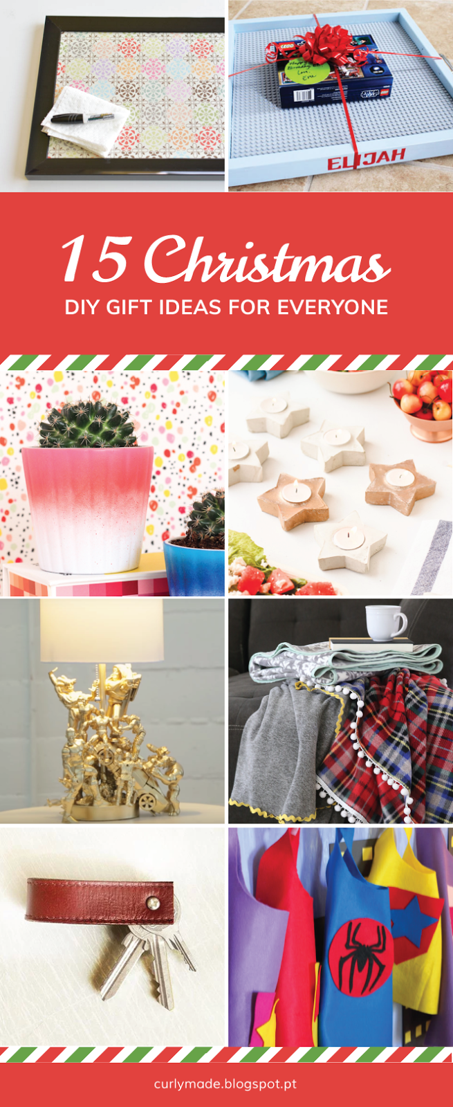 Curly Made | 15 DIY Christmas Gifts Everyone Will Love | DIY Roundup #crafts #Christmas #gifts