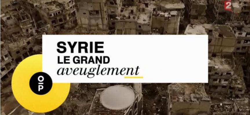 Syrie les vrais responsables du conflit  Syrie