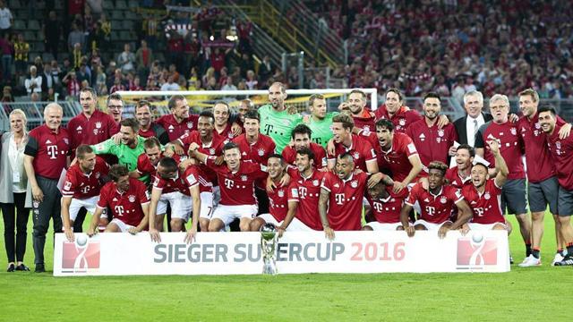 [Video] Cuplikan Gol Dortmund 0-2 Bayern Munchen (Piala Super Jerman)