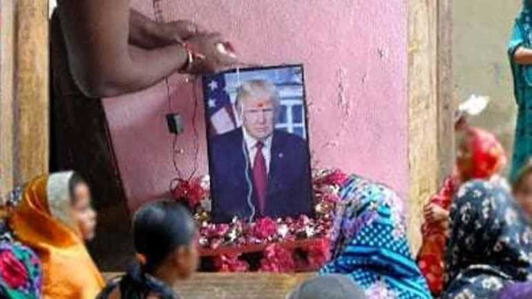 Meet Indian Man Who Worships Donald Trump As A God