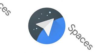 Google Spaces közösségi terek logój