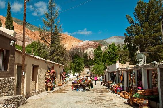 Purmamarca y el cerro de los siete colores. Viajando por Argentina. La quebrada de Humahuaca