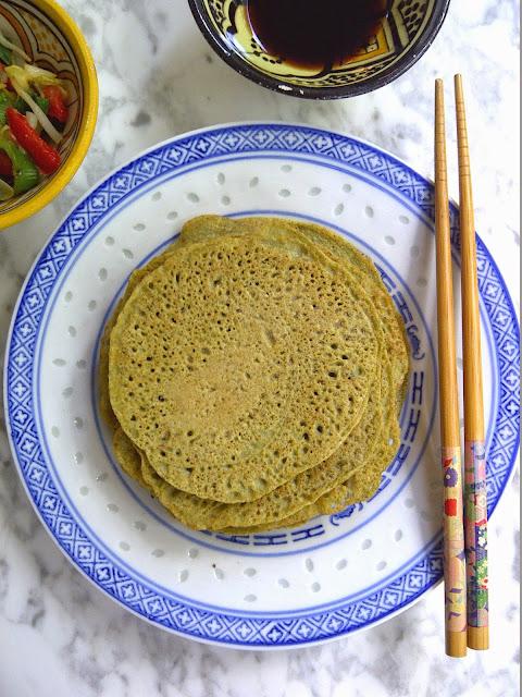 koreaanse pannenkoekjes mungbonen