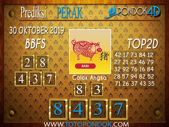 Prediksi Togel PERAK PONDOK4D 30 OKTOBER 2019
