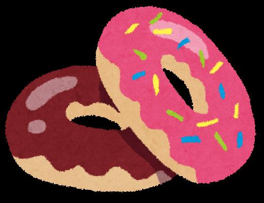 ドーナツのイラストチョコピンク かわいいフリー素材集 いらすとや