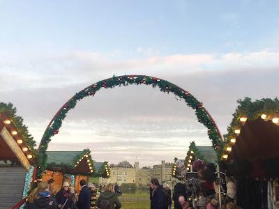 Leeds castle christmas markets maidstone