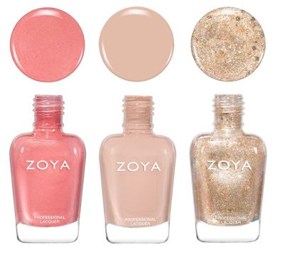 Zoya Sunshine Collection Clementine, Jack, Nahla