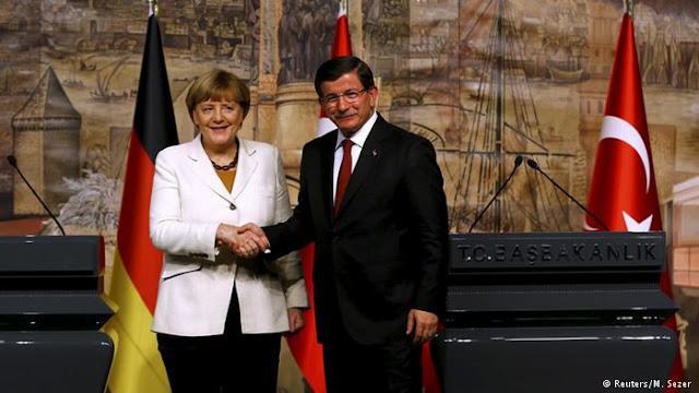 Μέρκελ και Νταβούτογλου συμφώνησαν να υπάρξει καλύτερη συνεργασία