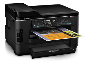 Epson WorkForce WF-7520 printer