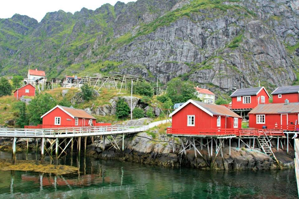 Pueblecito en Islas Lofoten.