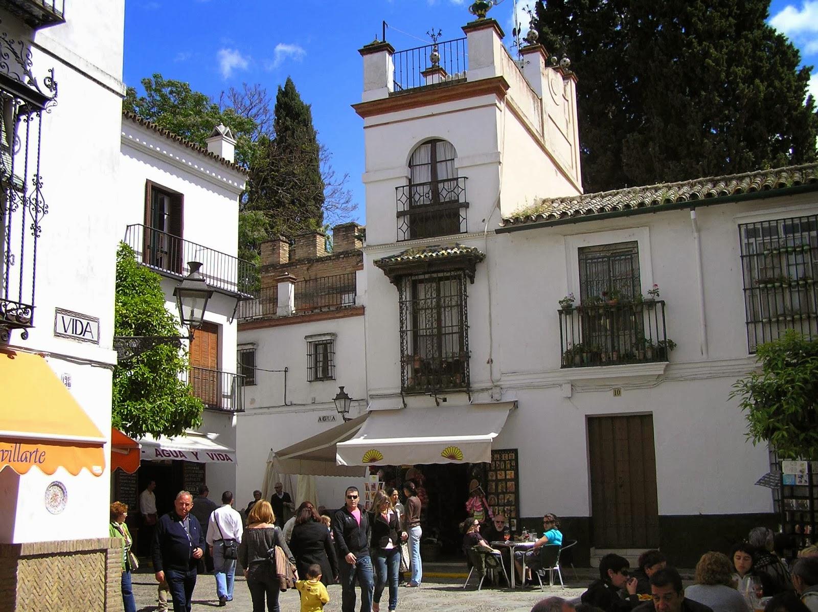 Barrio de Santa Cruz de Sevilla.