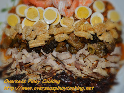 Special Pansit Palabok Toppings