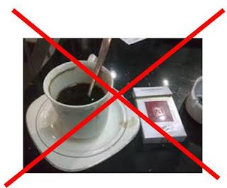 hindari rokok dan kopi agar cepat tidur