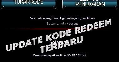 Update Kode Redeem Terbaru PB Garena Indonesia   Gividia
