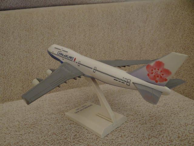 Blair's 收藏、玩具與模型: 中華航空 China Airlines B164 波音 747-400模型