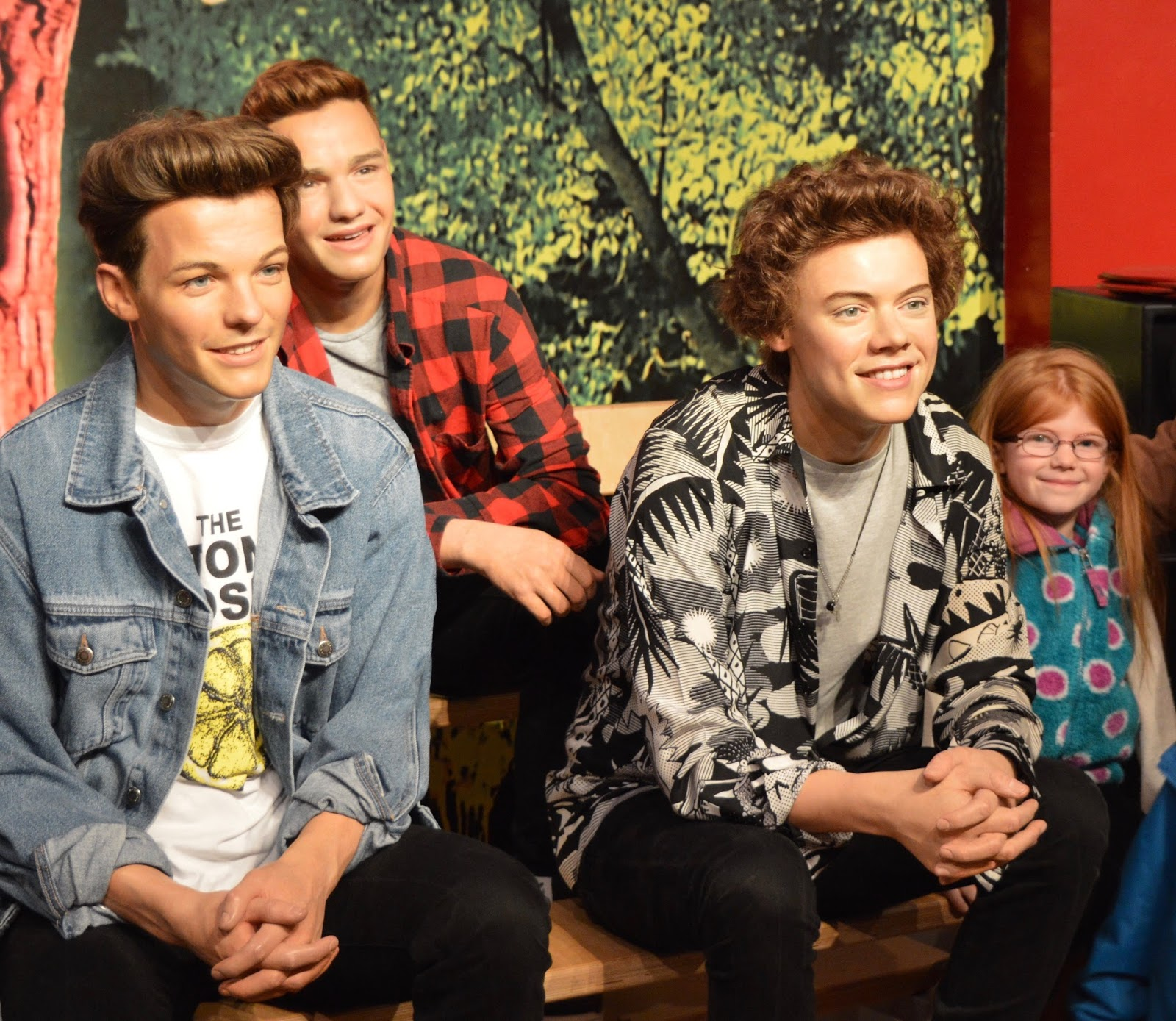 A family day trip to London with Virgin Trains East Coast - Madame Tussauds One Direction