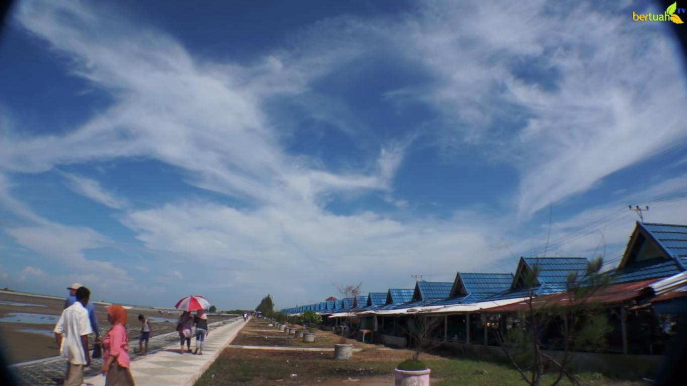 Pantai Selat Baru - Wisata Pantai Bengkalis - RiauMagz
