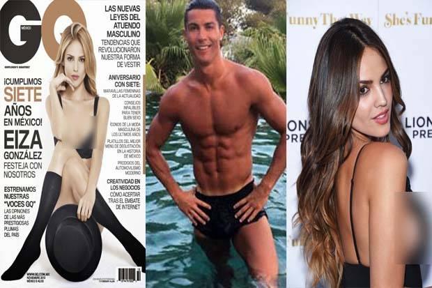 Cristiano Ronaldo dan Eiza Gonzalez