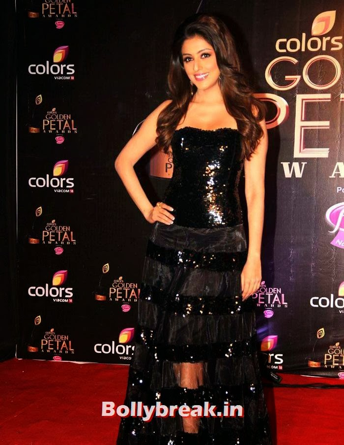 Aarti Chhabria, Colors Golden Petal Awards Dec 2013 Photos