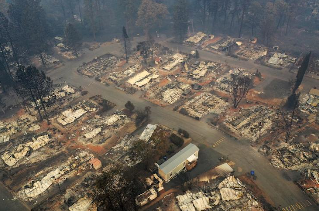 CALIFORNIA WILDFIRES: MORE THAN 1,000 PEOPLE MISSING AS DEATH TOLL RISES