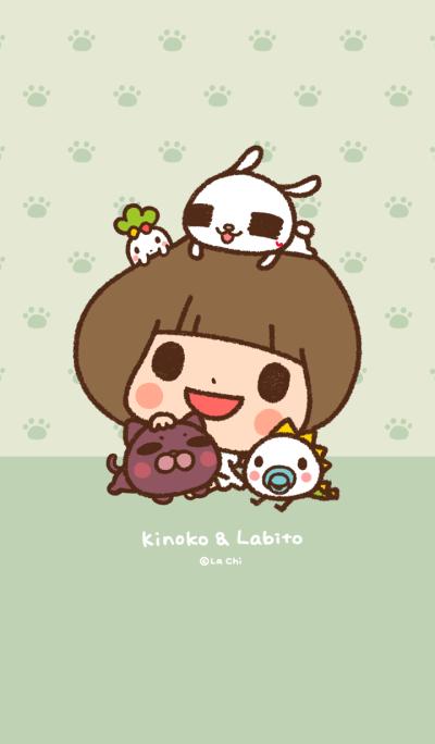 Kinoko & Labito - Crayon Version
