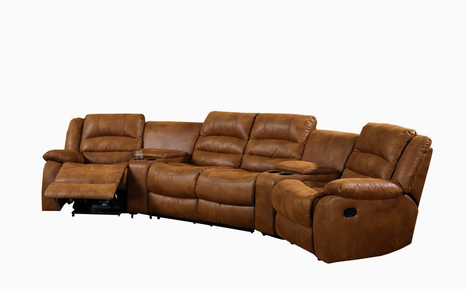 Recliner Sofa Set 3 2 1 Used Bed For Sale In Abu Dhabi Cheap Reclining Sofas Brown