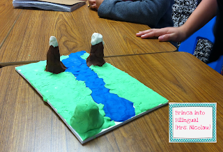 Landform craft idea for the primary classroom.