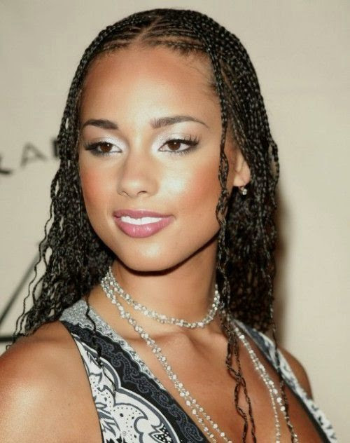 Best Celebrity Hairstyles: Popular Black Hairstyles Braids 2015 Trends