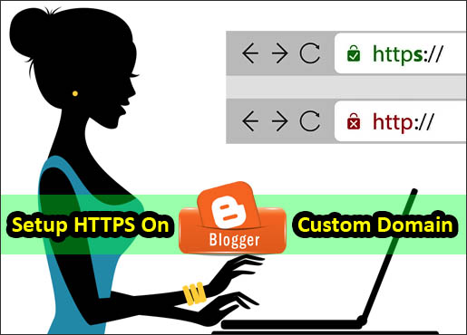 Setup HTTPS on blogger blog Shinemat