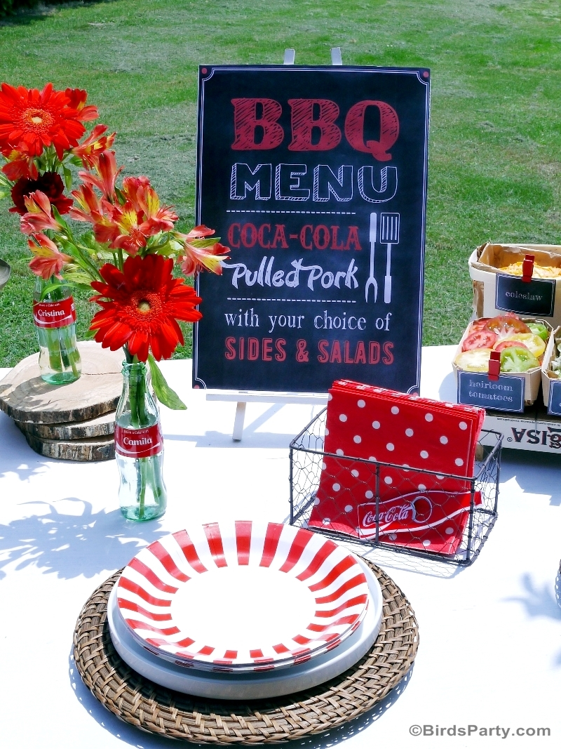 BBQ Party Decor #ShareaCokeContest