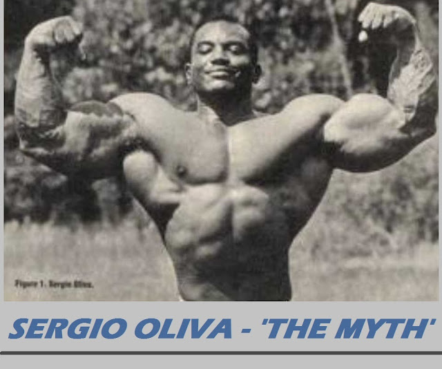 Sergio Oliva Workout
