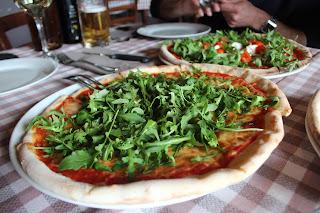 Pizzas en Venecia