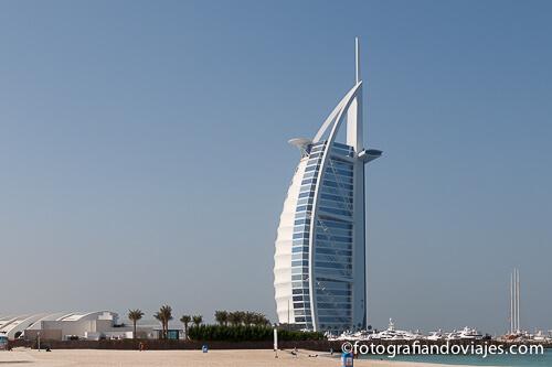 Burj al Arab en Dubai Emiratos Arabes