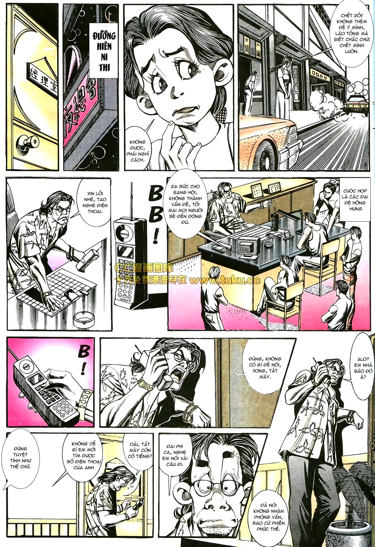 Người Trong Giang Hồ chapter 178: bối cảnh quạ đen trang 9