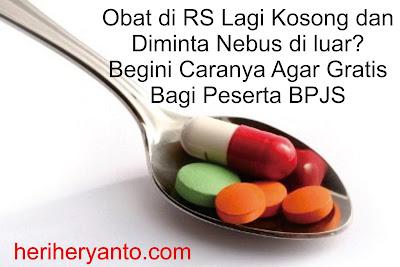 Begini Cara Tebus Obat di Luar Rumah Sakit Bagi Peserta BPJS agar Gratis