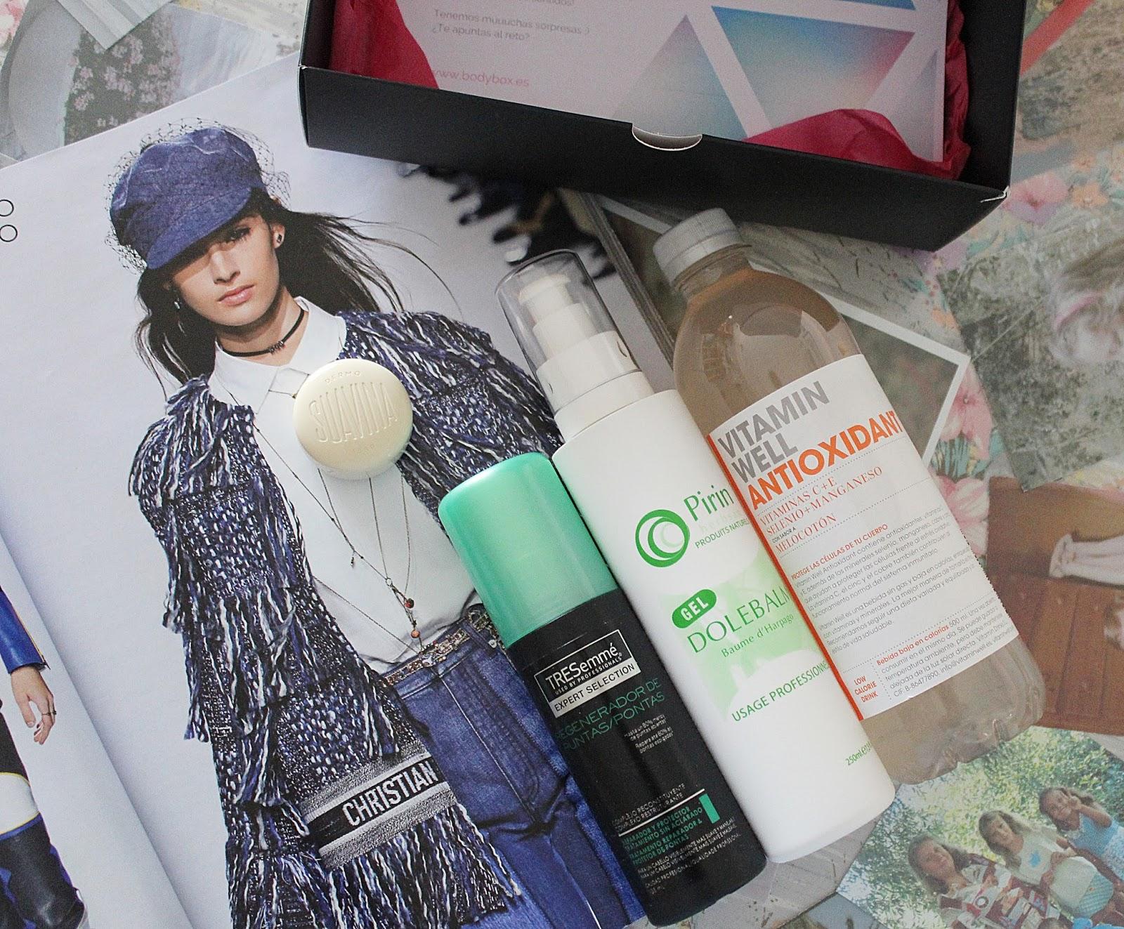 bodybox marzo 10 productos de belleza