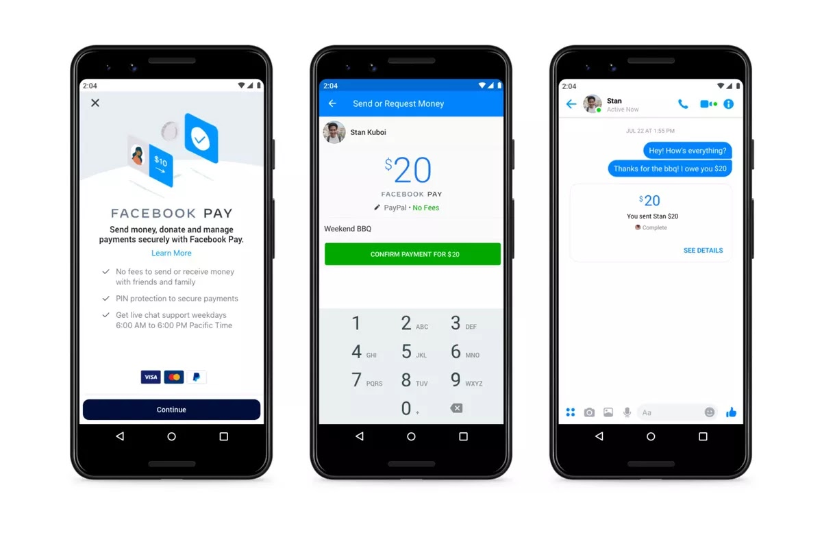 Facebook Pay is a new payment system for WhatsApp, Instagram, Messenger