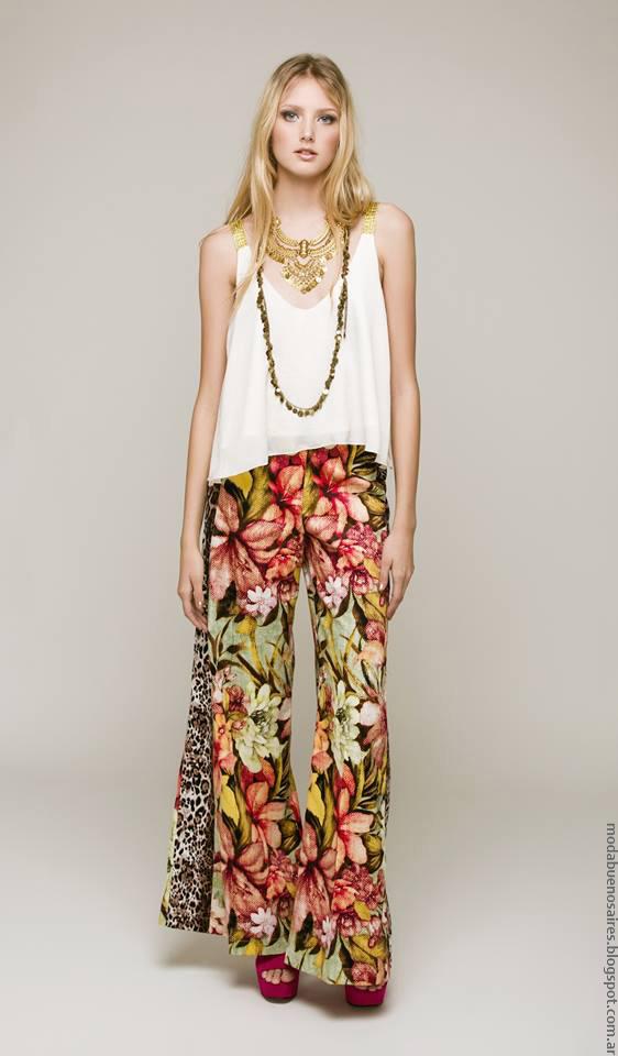 Pantalones verano 2017 ropa de moda mujer 2017.