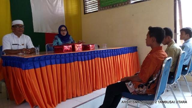 Penjemputan siswa PKL SMK N 2 Tambusai Utara di Kantor Camat Tambusai Utara 24
