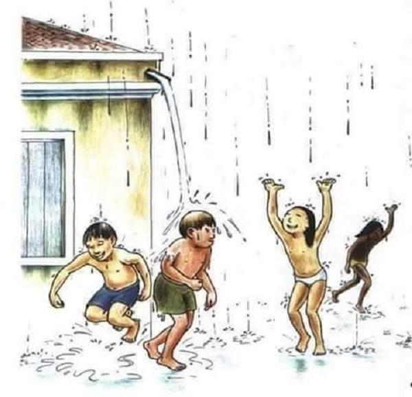Banho de Chuva- A verdadeira nostalgia do sertanejo-Por José Maria Almeida Marques