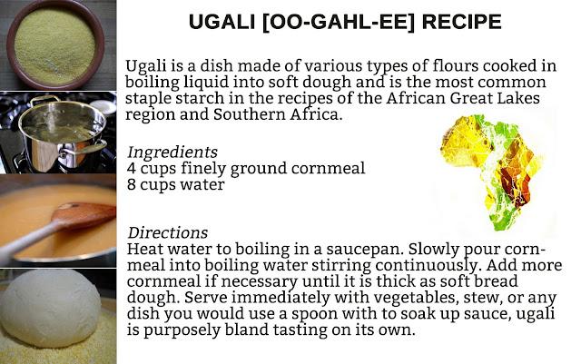 Ugali Recipe