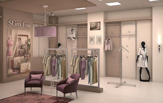 thiết kế shop thời trang nữ đẹp - mẫu số 7