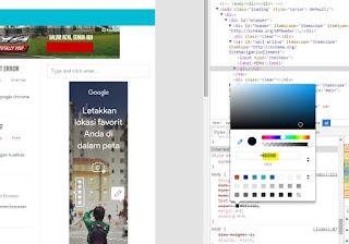 metode mudah mencari dan mengganti warna template blog