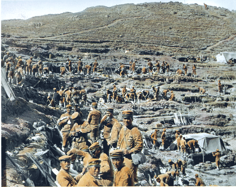 Rare Color Photographs Of Russo Japanese War From 1904 To